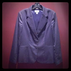 Beautiful Talbots Pinstripe Classic Jacket